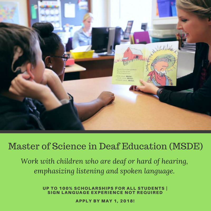 scholarships for hard of hearing